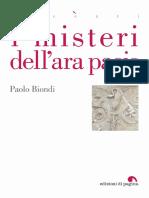(Accenti 26) Paolo Biondi - I Misteri Dell'Ara Pacis-Pagina Soc. Coop. (2017)