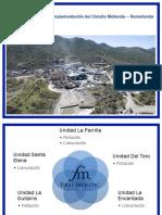 FM Implementación del circuito Molienda-Remolienda (SEMINARIO FLOTTEC)