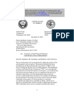 Federal Trade Commission and DOJ Position on Unlicensed Practice of Law
