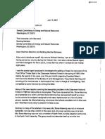 Michael Merkley Letter To Joe Manchin And John Barrasso