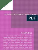 TEKNIK PENGAMBILAN SAMPEL GAS