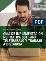 Guía Implementación Normativa Trabajo a Distancia
