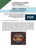 Vida Eucarística de La Virgen en El Cenáculo. San Pedro Julián Eymard