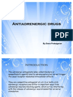 Noradrenergic Drugs/alpha blockers