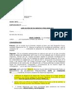 Disposición - Ampliación PNP