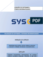 SYSQ Validação de Software