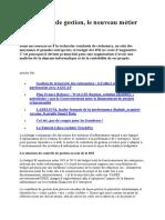 Le Contrôle de gestion, le nouveau métier des DSI