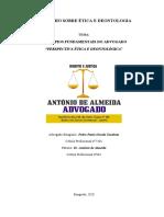 Dr Pedro Cambuta 1 - Trabalho