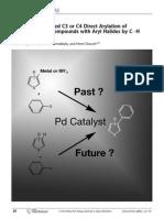 heteroaryl direct arylation review