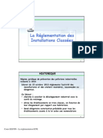 Cours ICPE 1 B- réglementation ICPE