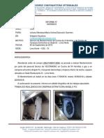 149. Informe Mantto Campana Extractora y Cocina de 4 hornillas