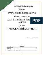 PROYECTO DE MAMP.