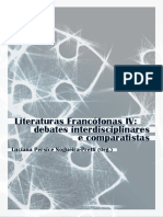 Livro Literaturas Francofonas IV Ff