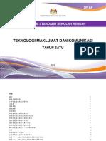 Dokumen Standard Kurikulum TMK Tahun 1 - Versi BC