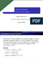 Funciones Varias Variables 1