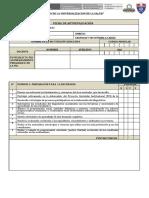 FICHA DE AUTOEVALUACION DOCENTE 2020