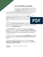 plan de formación BIM integrado y colaborativo BIM 2022
