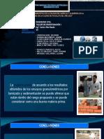 DIAGNOSTICO DE LA CALIDAD DE LADRILLO