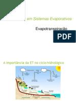 Modelagem Sistemas Evaporativos