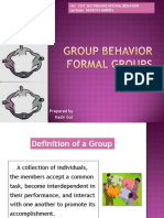 FORMAL GROUP BEHAVIOR [EDocFind[1].com]