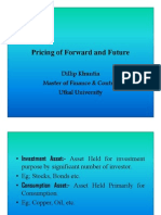 Microsoft PowerPoint - Pricing of Forwards