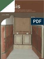 Gutiérrez, F.J. Documentación muralla romana Zaragoza con 3D. 2009