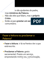 FORMAÇÃO LEITORES SLIDES