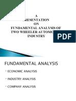 Fundamental Analysis Presentation
