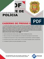 1190 - AGENTE DE POLICIA PC DF SIMULADO 22