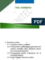 Unidad 2. Semiótica Jurídica