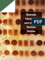 UNESCO - Declaração Internacional sobre os Dados Genéticos Humanos