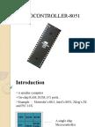 MICROCONTROLLER-8051
