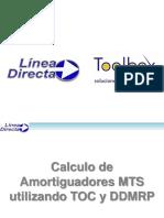 Calculo de amortiguadores MTS por TOC y DDMRP