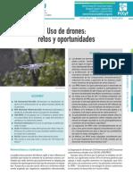 uso de drones retos y oportunidades