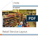 Retail Service Layout