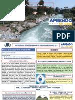SESION 14  PROPONEMOS ACCIONES PARA EL CUIDADO Y AHORRO DEL AGUA (1)