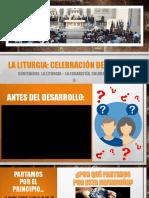 TALLER 1 - LA LITURGIA, NOCIONES GENERALES Y EUCARISTÍA