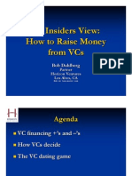 Insiders View on How to Raise VC Capital.Dahlberg_CET_UCB.2009-04-13