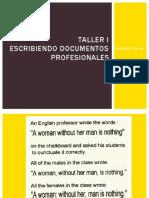 Taller - Escribiendo Docs Profesionales