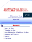 Local Healthcare Services 08222007