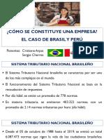Constitución de una empresa en Brasil y Peru-Español