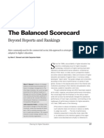BalancedScorecard - Beyond Reports and Rankings