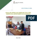 Escala CTPS en Chuquisaca Nota Tecnica Mayo 2020