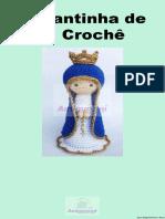 Santinha de Crochê