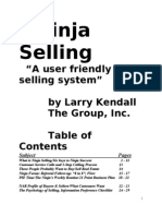 Ninja Selling Booklet 01-01-08