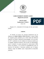 SP1575-2020(50312) Congruencia y agravantes en hechos juridicamente relevantes