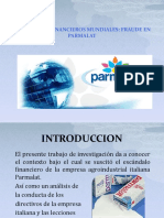 ESCÁNDALOS FINANCIEROS MUNDIALES PARMALAT