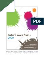 Future Work Skills 2020_Español