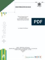 Informe-Caracterización de aguas
