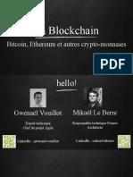 Les Jeudis Blockchain 1